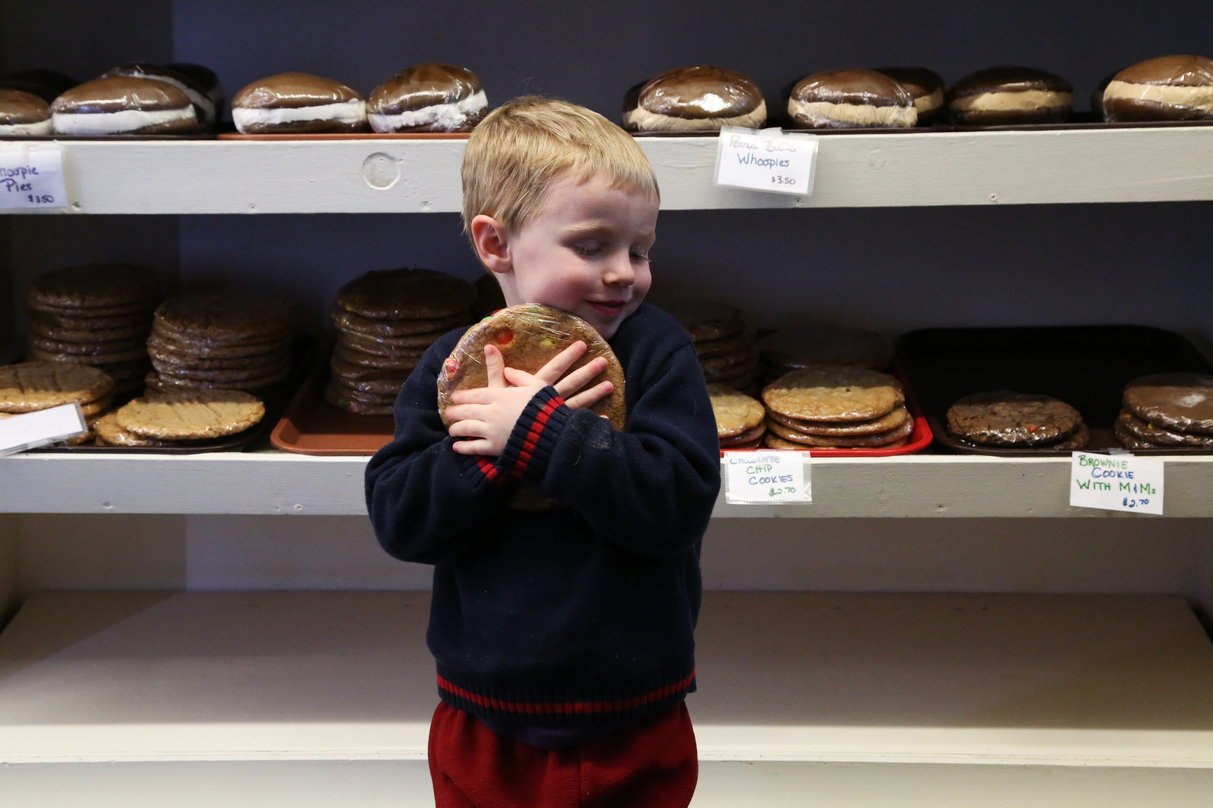 There's a special bond between a boy and his cookie.