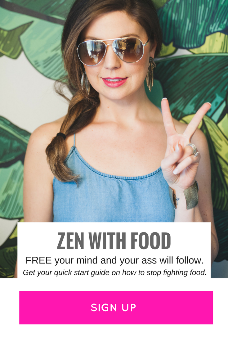 zen with food - lose weight without diets