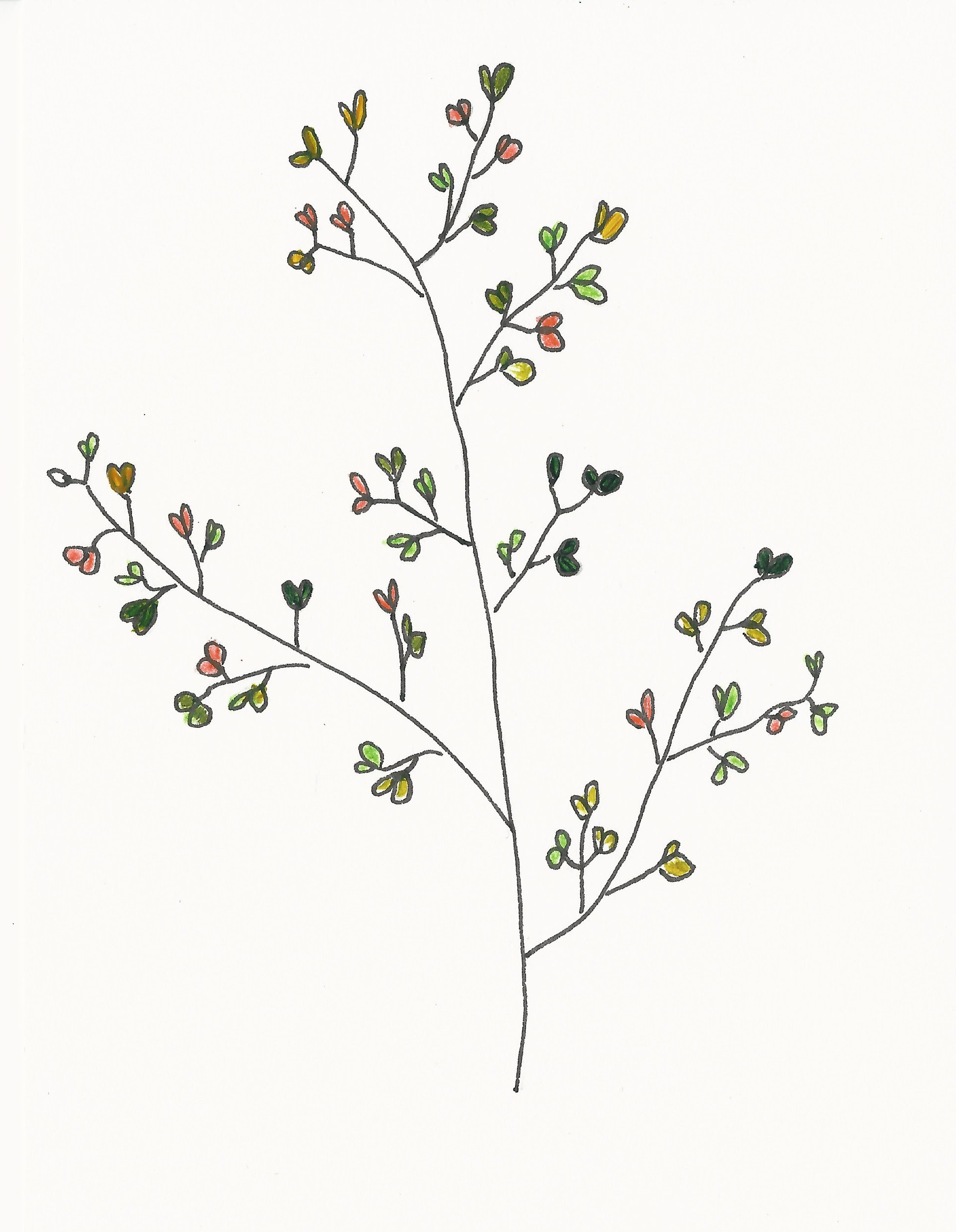 Branches with Hearts