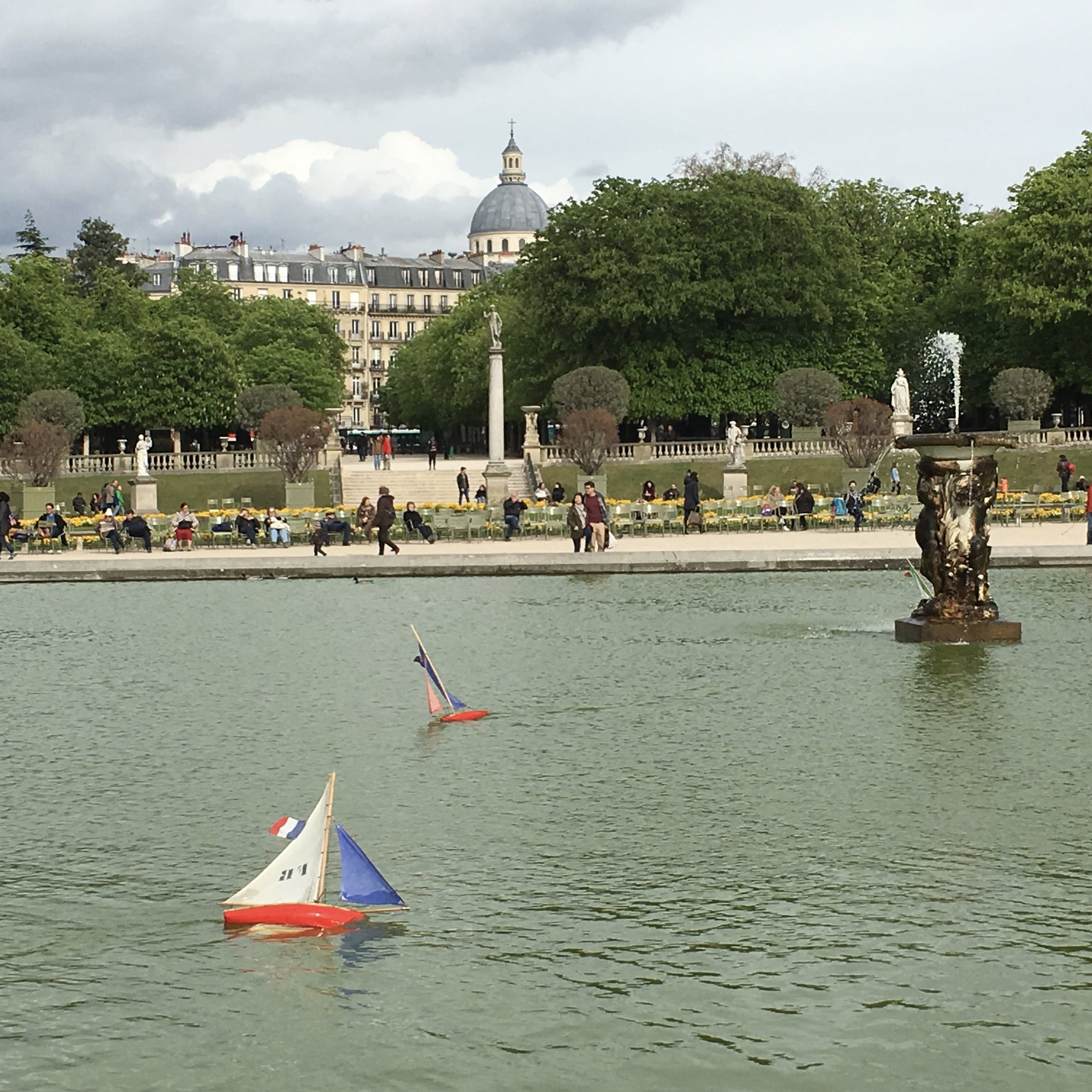 Toy Boats in the Luxembourg Gardens