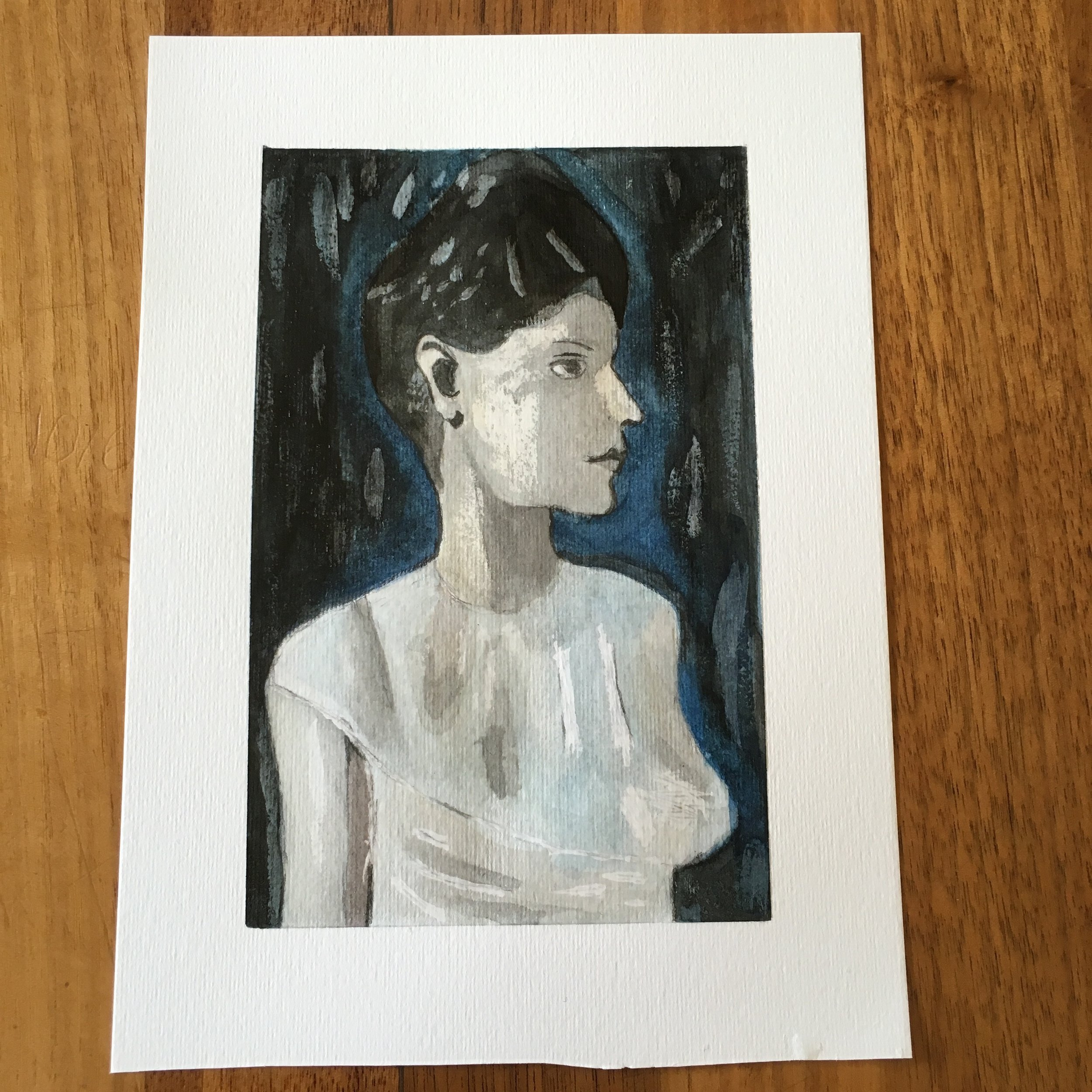 Picasso Study of A Woman