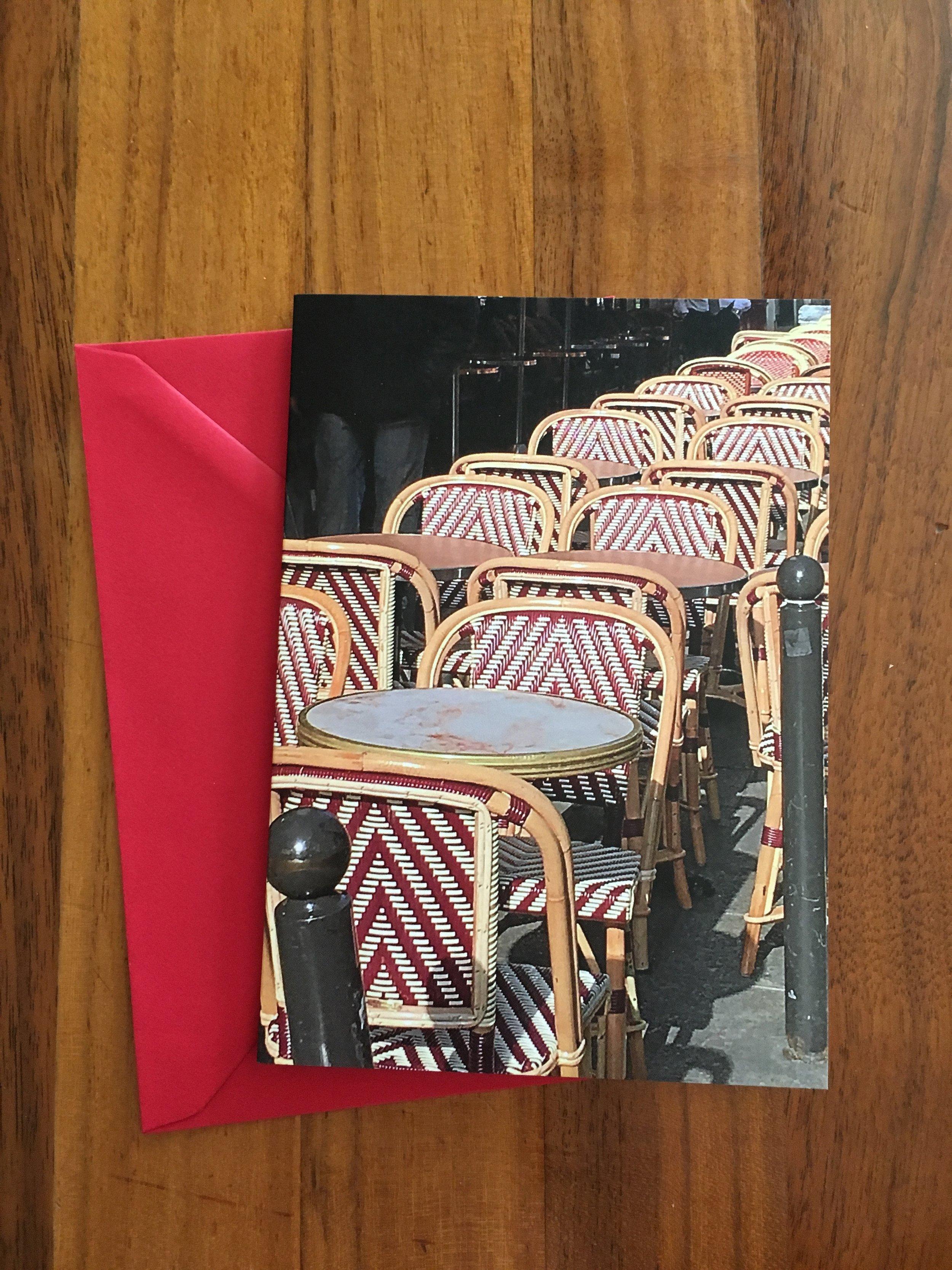 Cafe Chairs - Paris