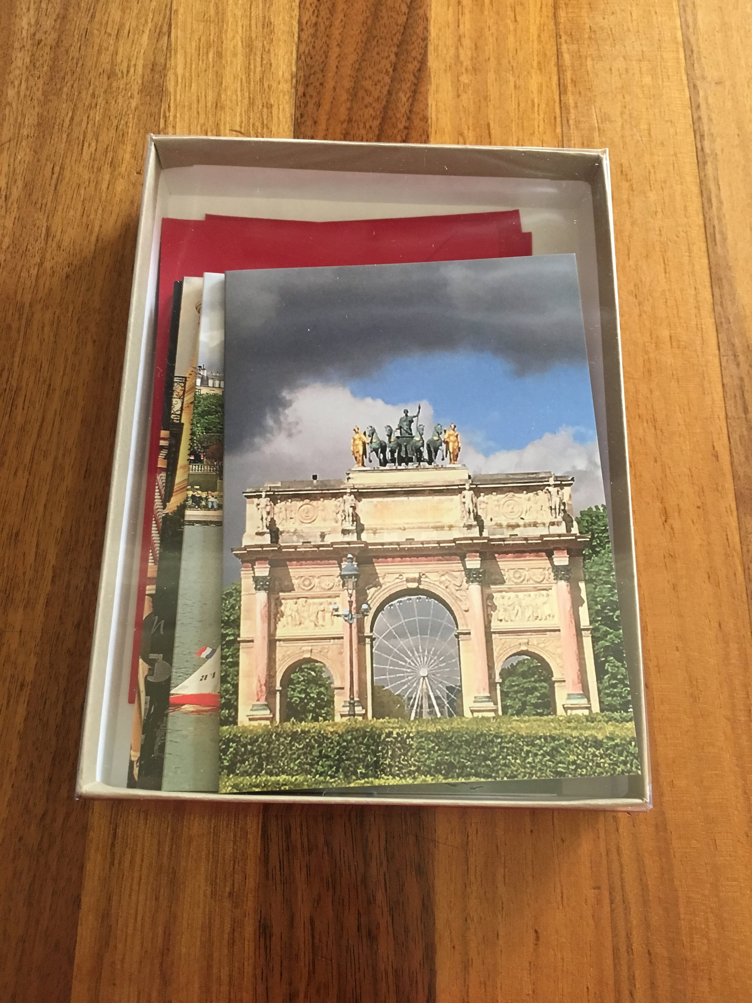 $ 30.00 Boxed set of 5 cards: Paris Collection