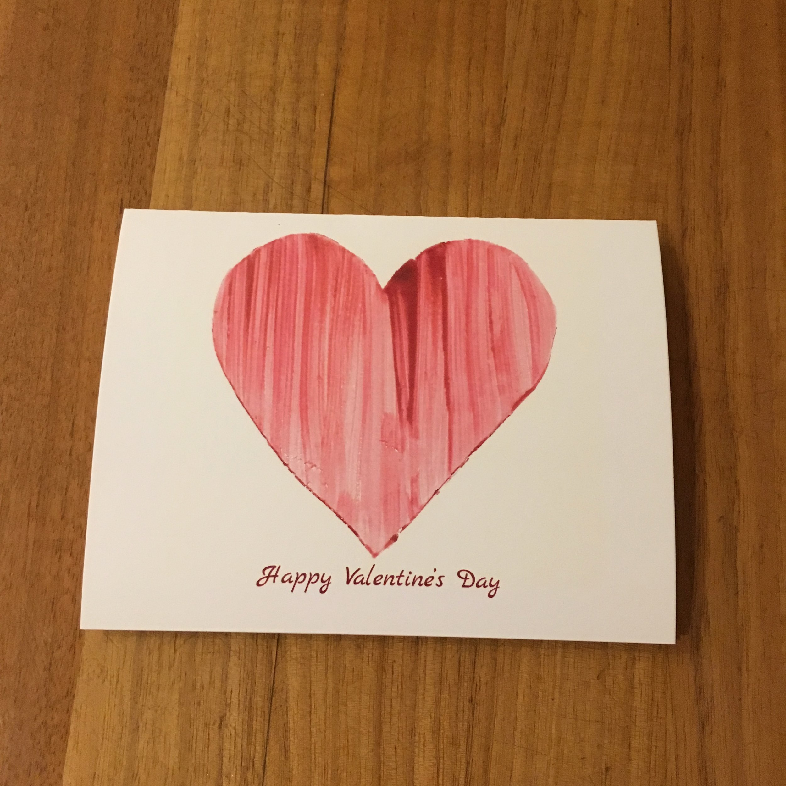 Greeting Card: Valentine's Day Collection $5.00 each