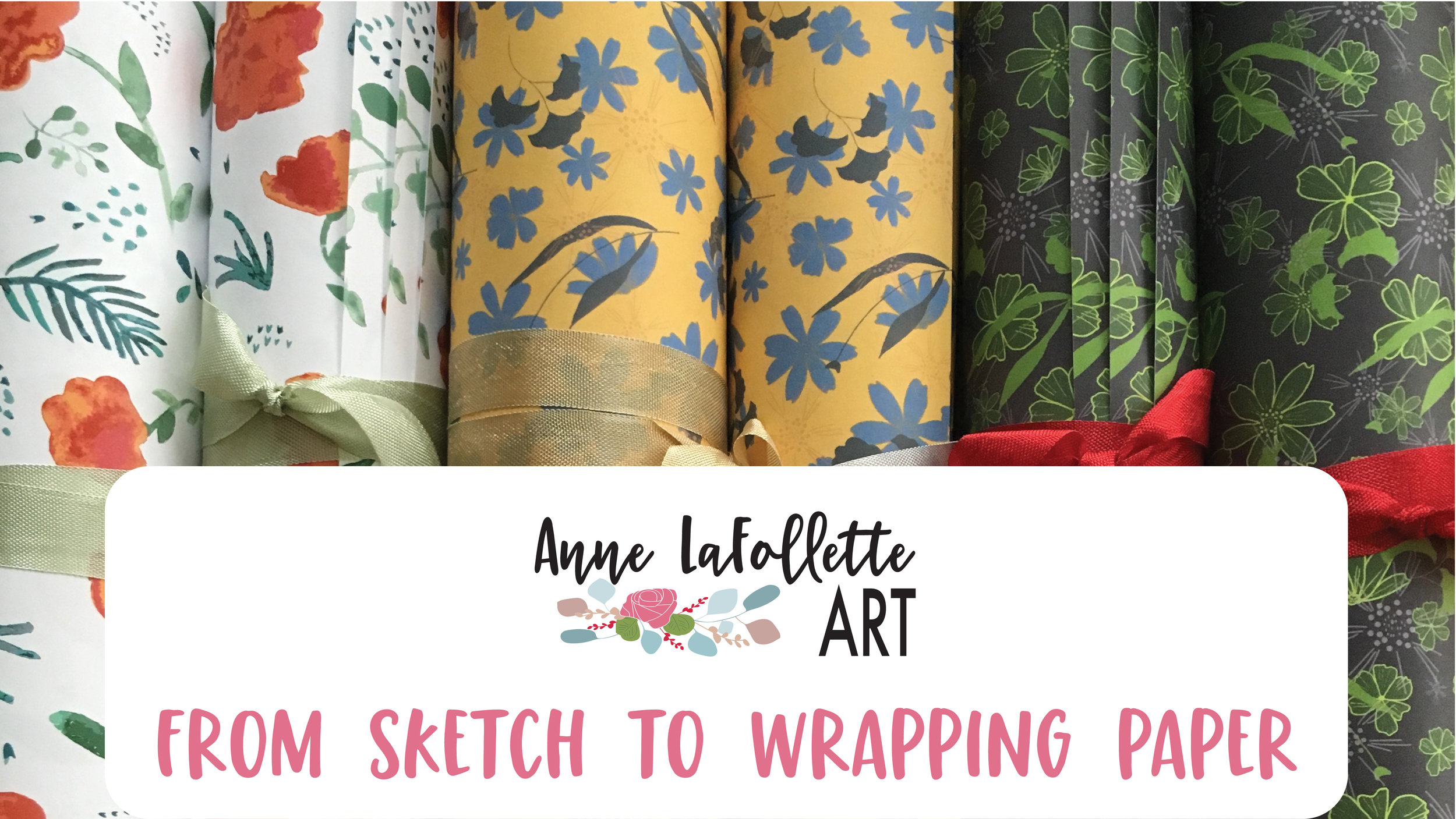 From Sketch to Wrapping Paper