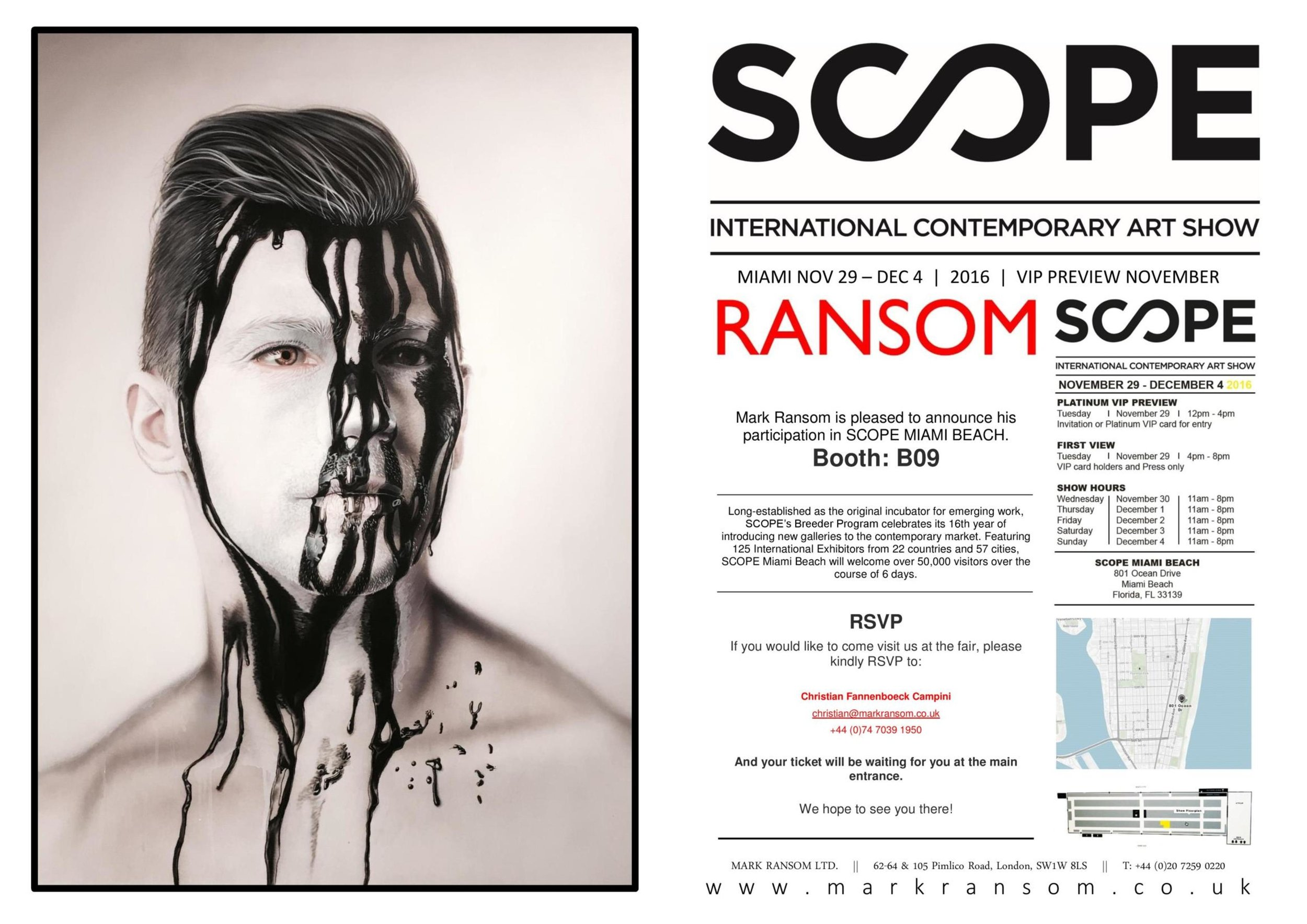 Scope Miami 2016 Invitation