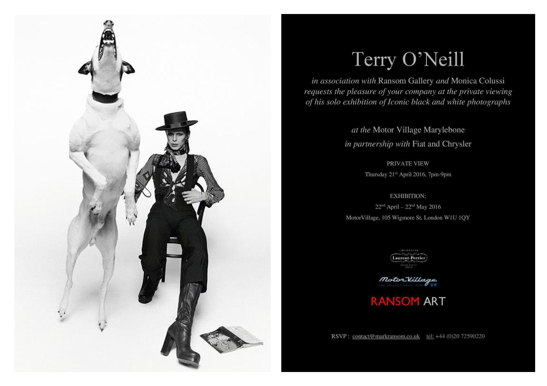 invitation-terry-o-neill-solo-exhibition-motovillageuk-ransom-art-gallery