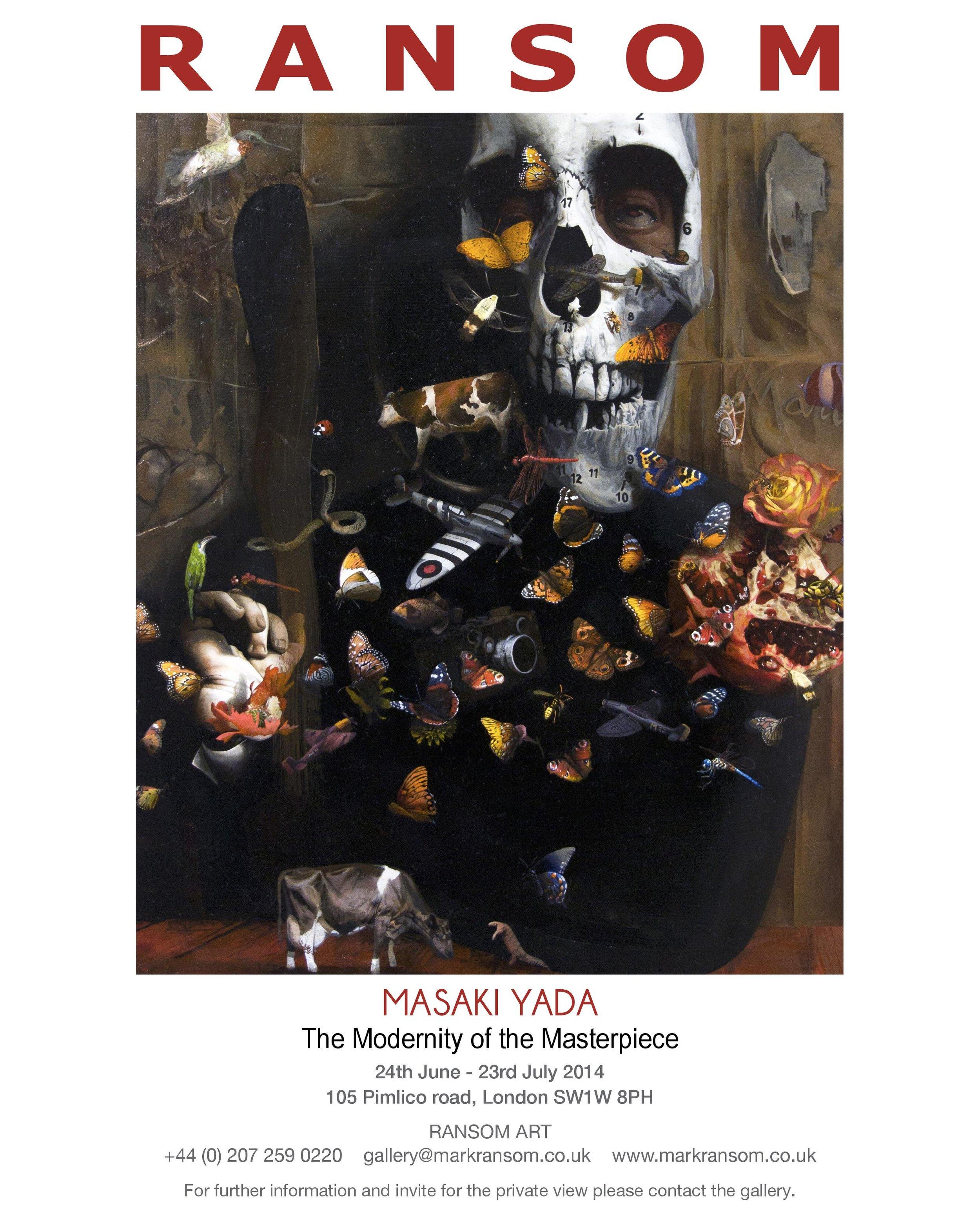 invitation-masaki-yada-exhibition-ransom-art-gallery