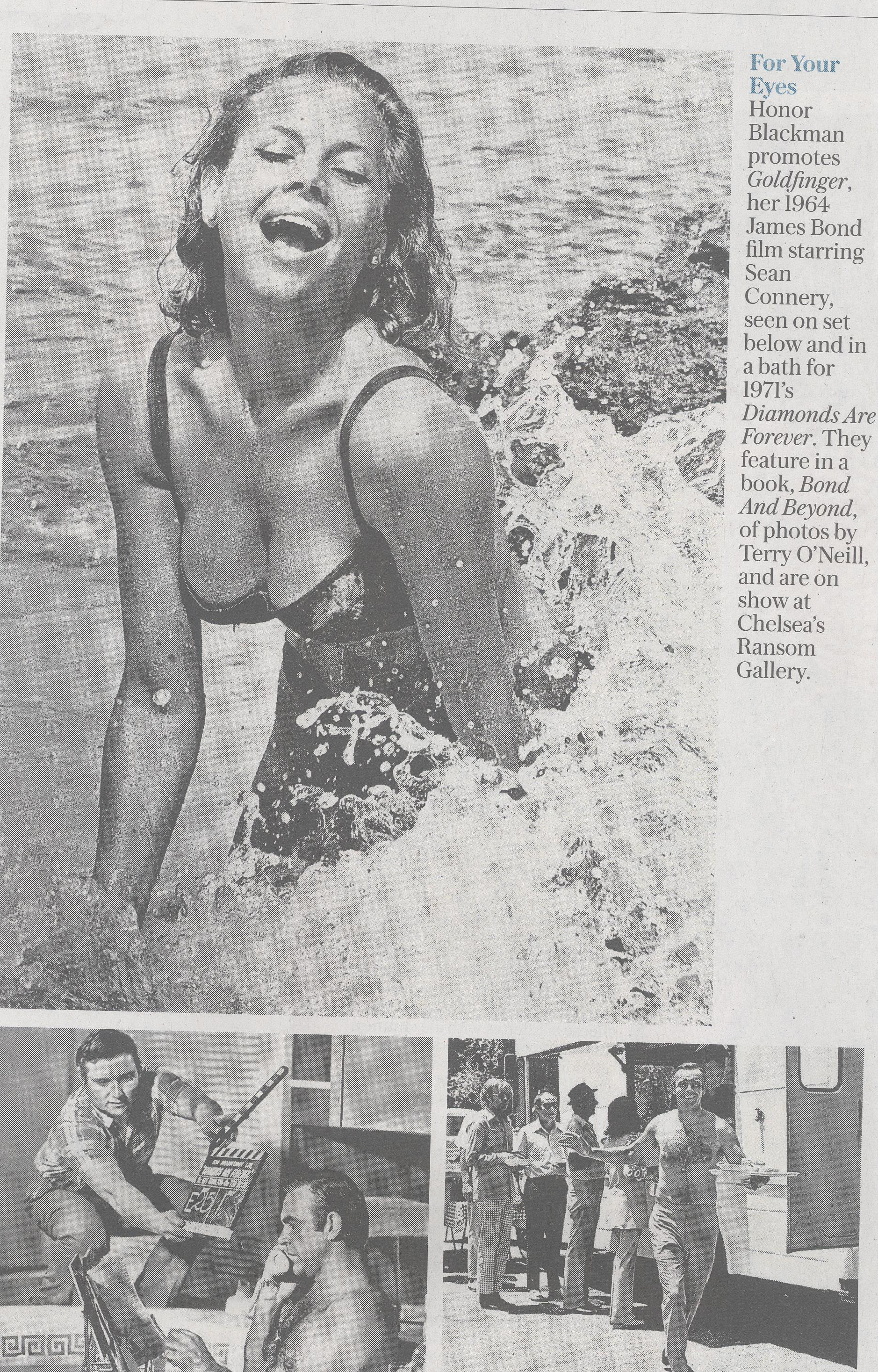 The Sunday Telegraph - Terry O'Neill at Ransom Art