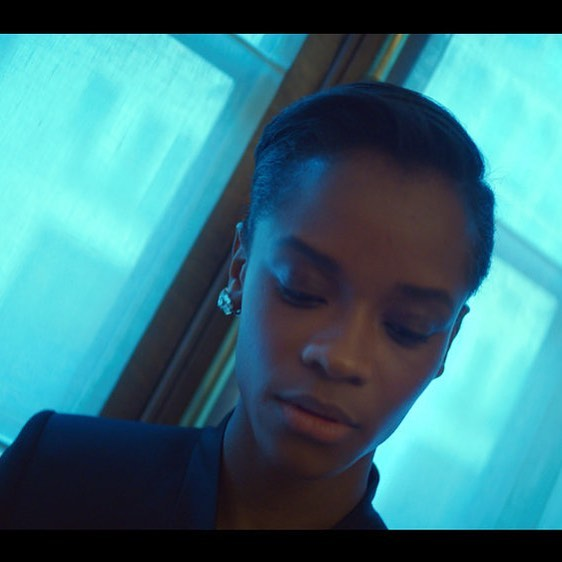 Outtake from forthcoming film w @letitiawright for @cartier . . . . . . . #panther #wearing #ring #cartier #letitiawright #shuri #newbondstreet #blackpanther #avengersinfinitywar #avengersendgame #readyplayerone #stellamccartney