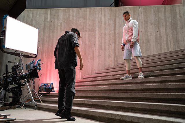 @starbucks 'Whoa Nitro' BTS - highly caffeinated intensity majestically captured by Caleb Coppola : @dozhdbog . . #whoanitro #starbucks #nitrobrew #commercial