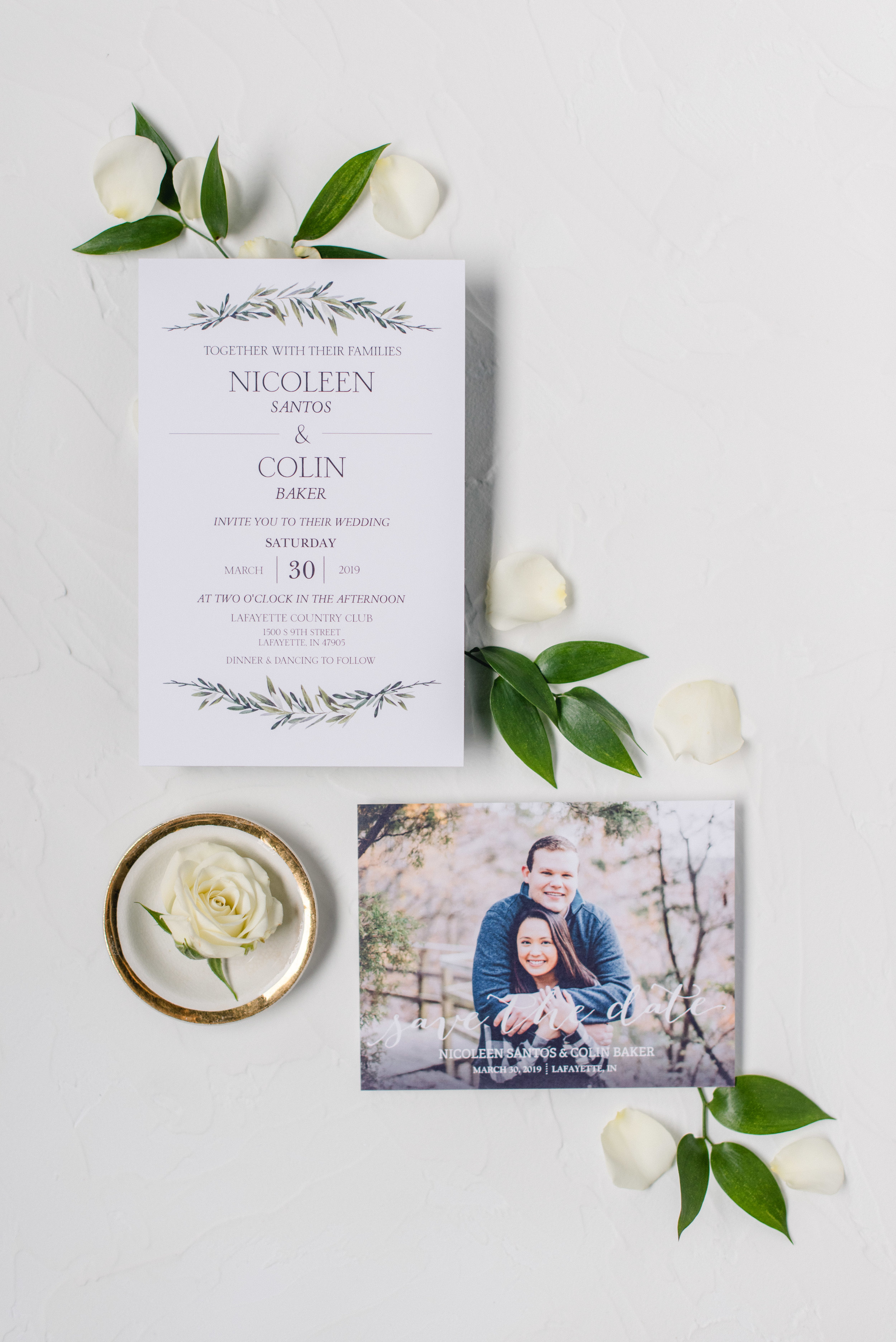 invitation styled with greens and roses.jpg