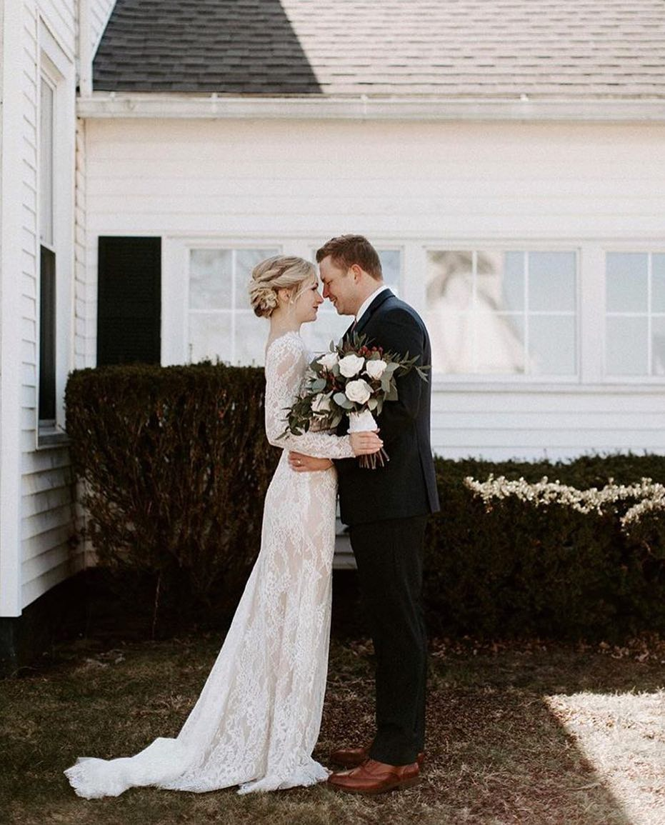 Lace Wedding dress bride and groom.jpg