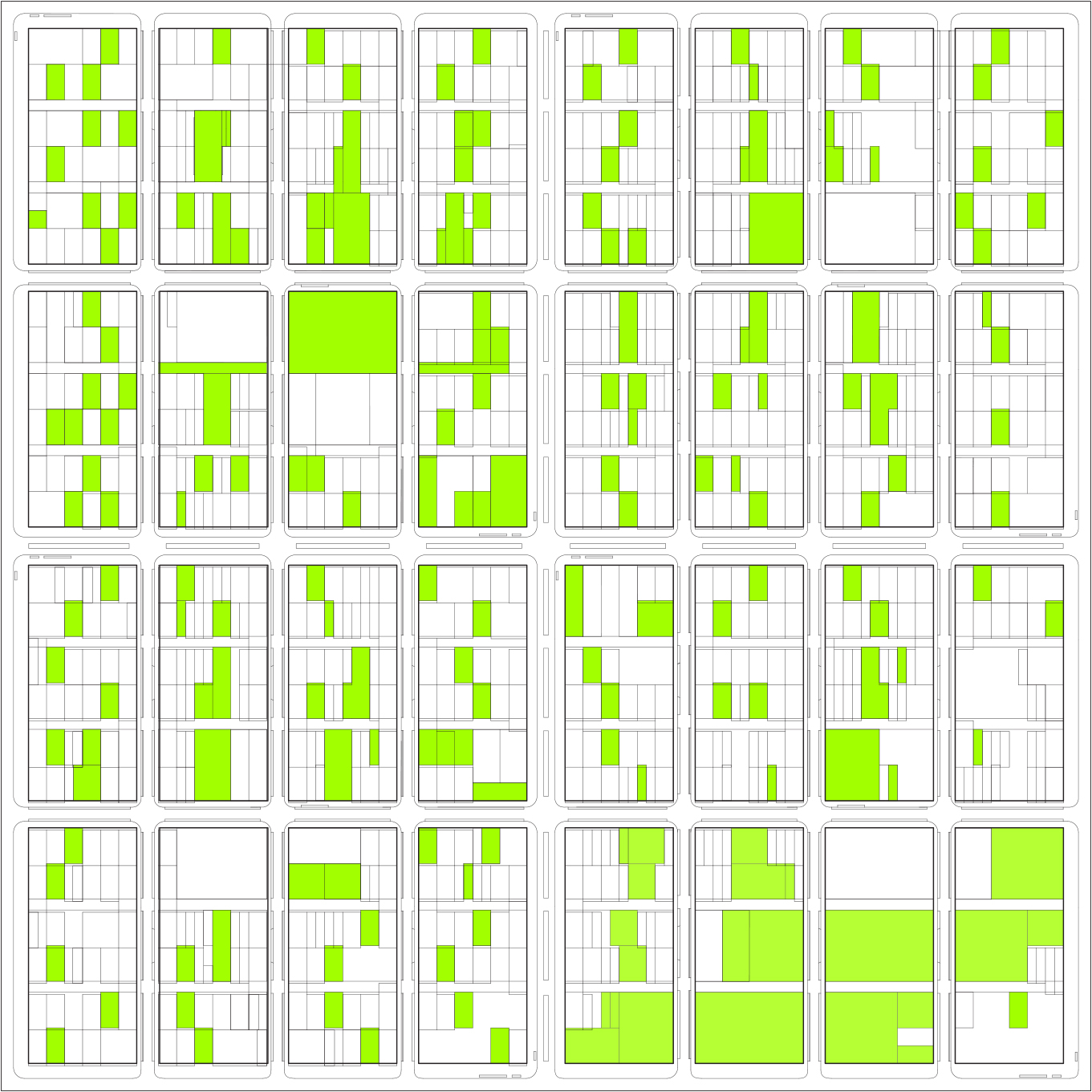 Self Sufficient Neighborhood Prototype Layout