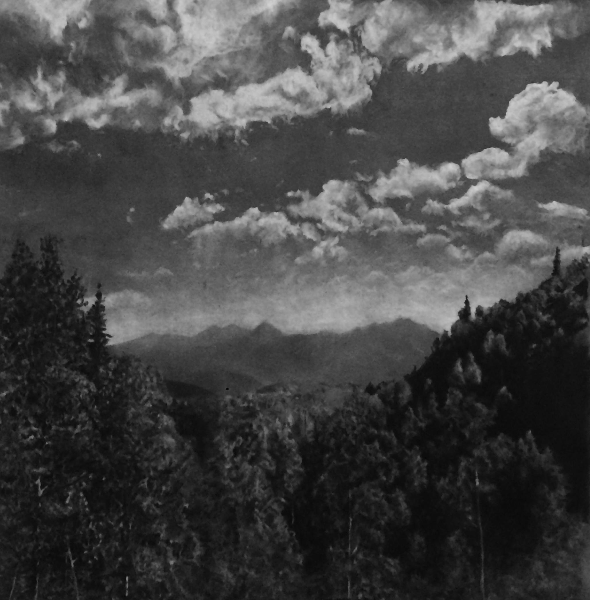 Cascade Peak From Guardsman Pass Summer