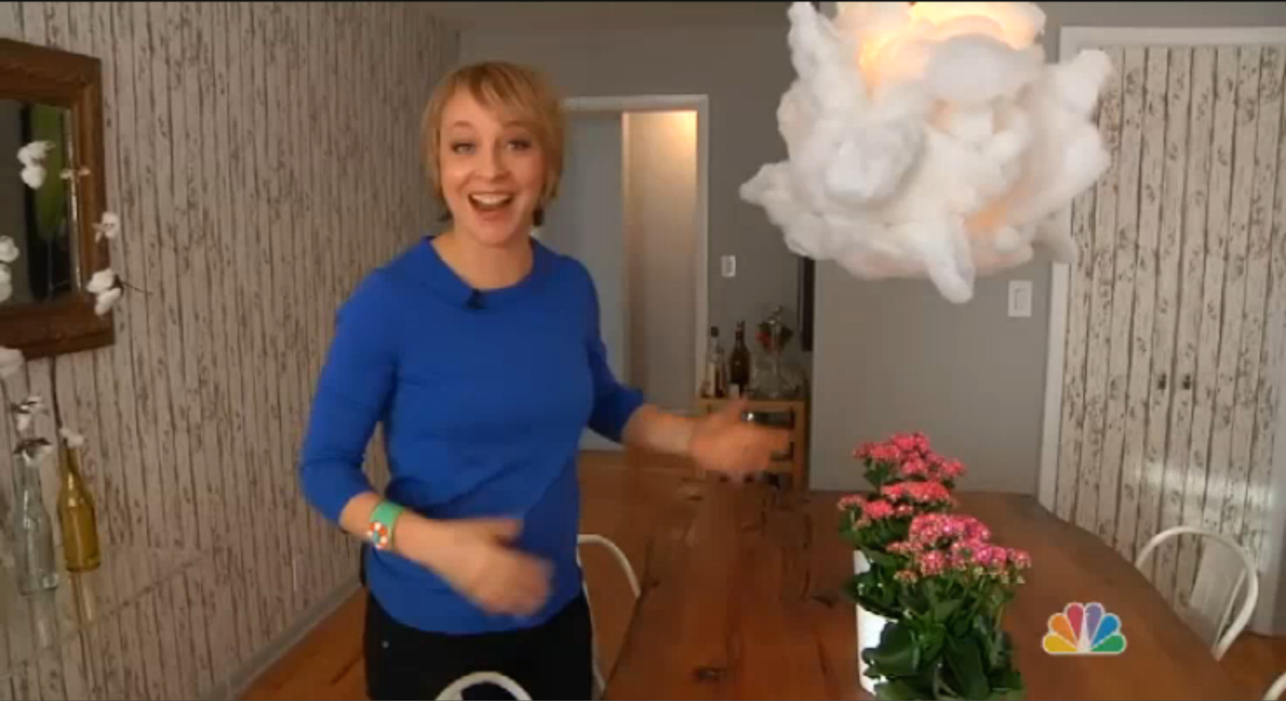 NBC open house: dining room makeover in just one day