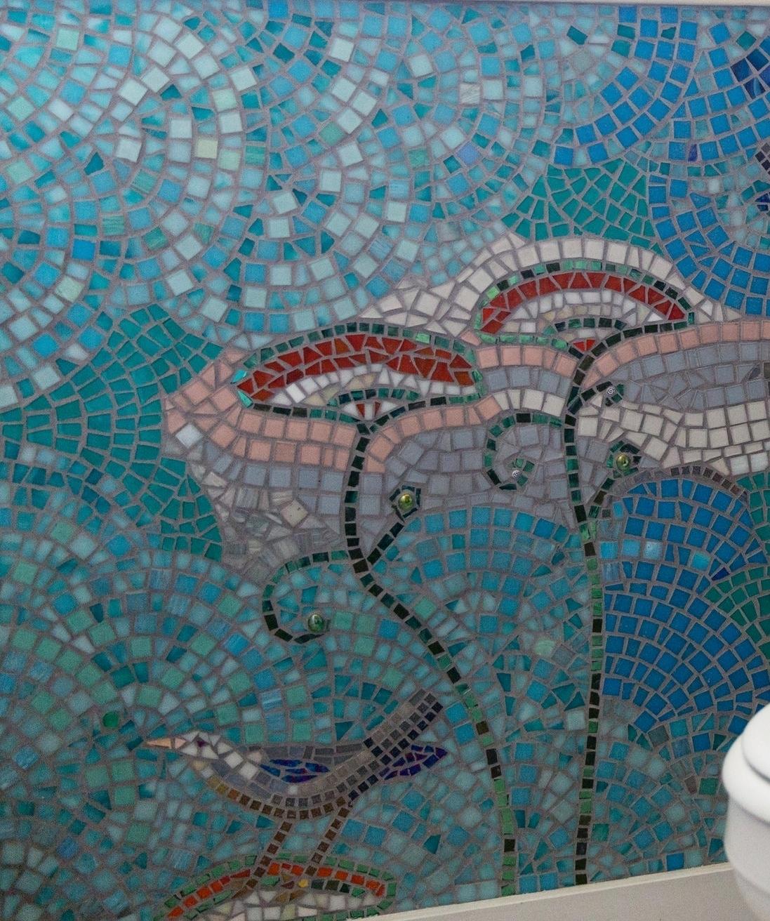 BATHROOM WALL DETAIL