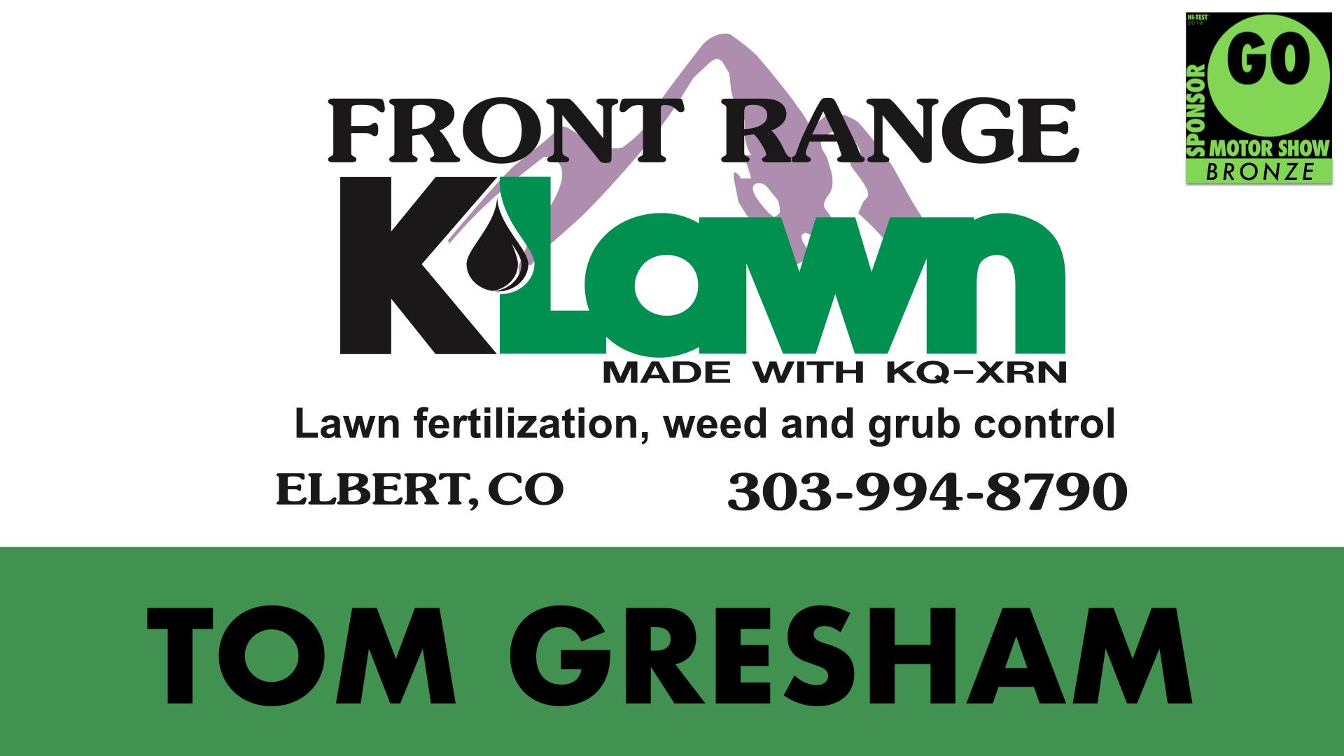 Front Range K-Lawn Tom Gresham