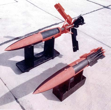 Snakeye was fielded in 1964 and used extensively since; the retarder tail (Mk 14/Mk 15 fins for Mk 81 250-pound/Mk 82 500-pound bombs) allowed low-level, high-precision attack while avoiding bomb-fragment damage to delivery aircraft and retaining a low-drag delivery option.