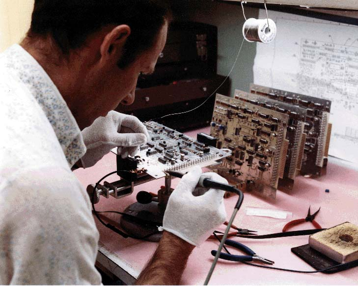 As an integral part of full-specrtum weapons development, China Lake developed state-of-the-art soldering techniques and equipment (e.g., NWC's high-reliability soldering spec, the basis for the military spec) that made the Center a world leader in soldering and electronics-manufacturing technology.