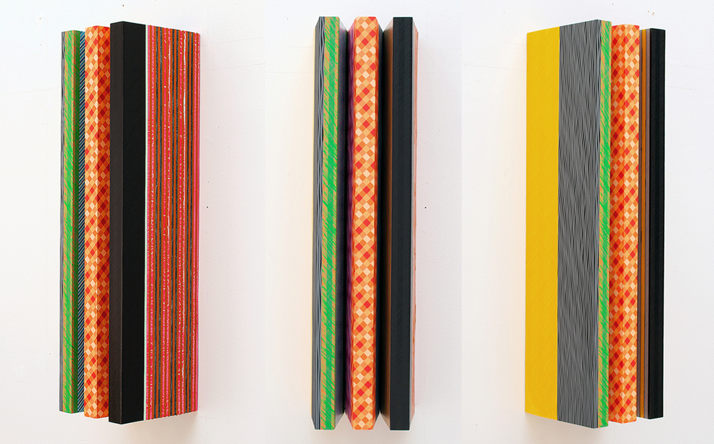 Untitled #63 (Left, Front, and Right Views)