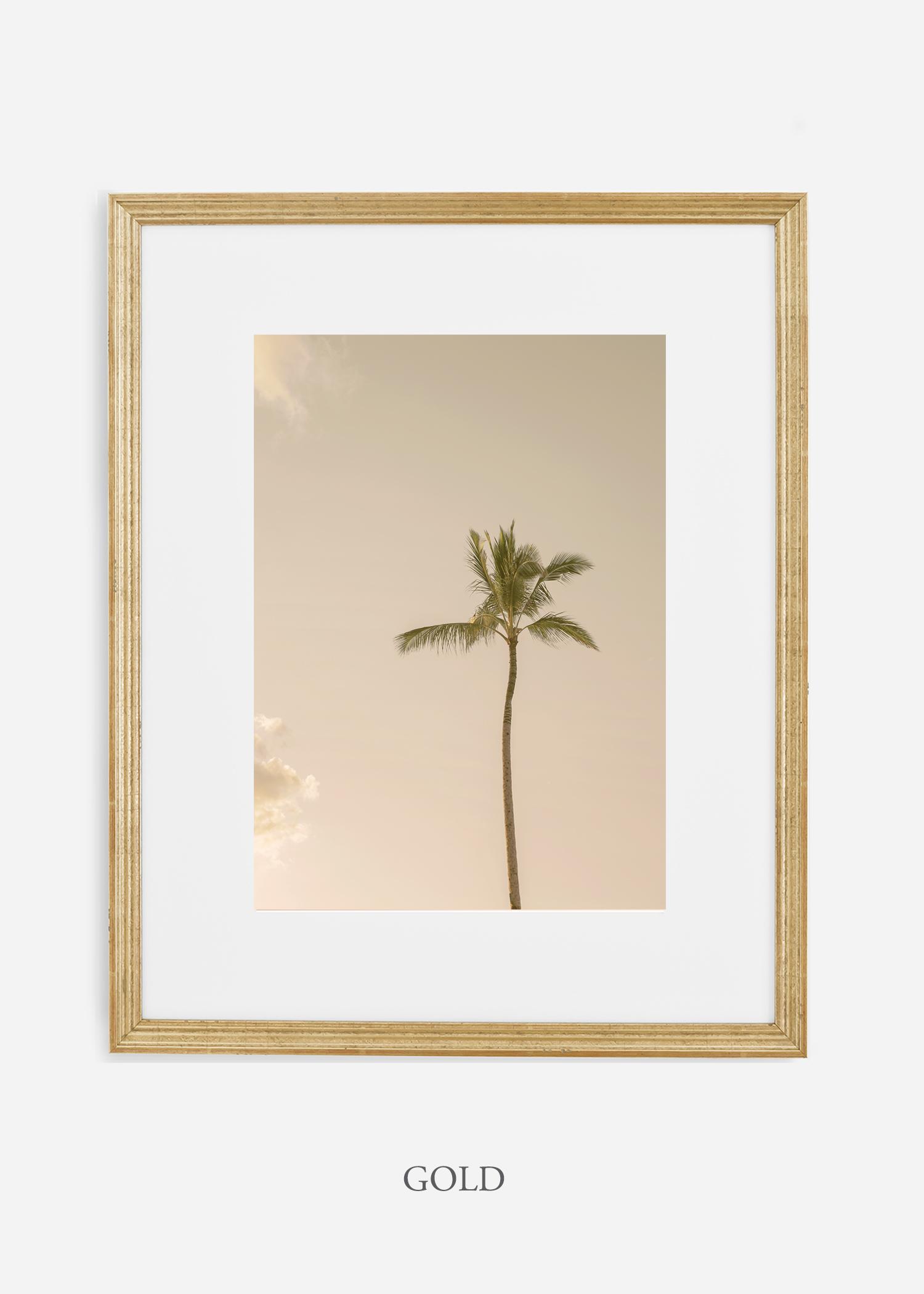 WilderCalifornia_Hawaii_lonepalm_tropicalart_goldframe.jpg