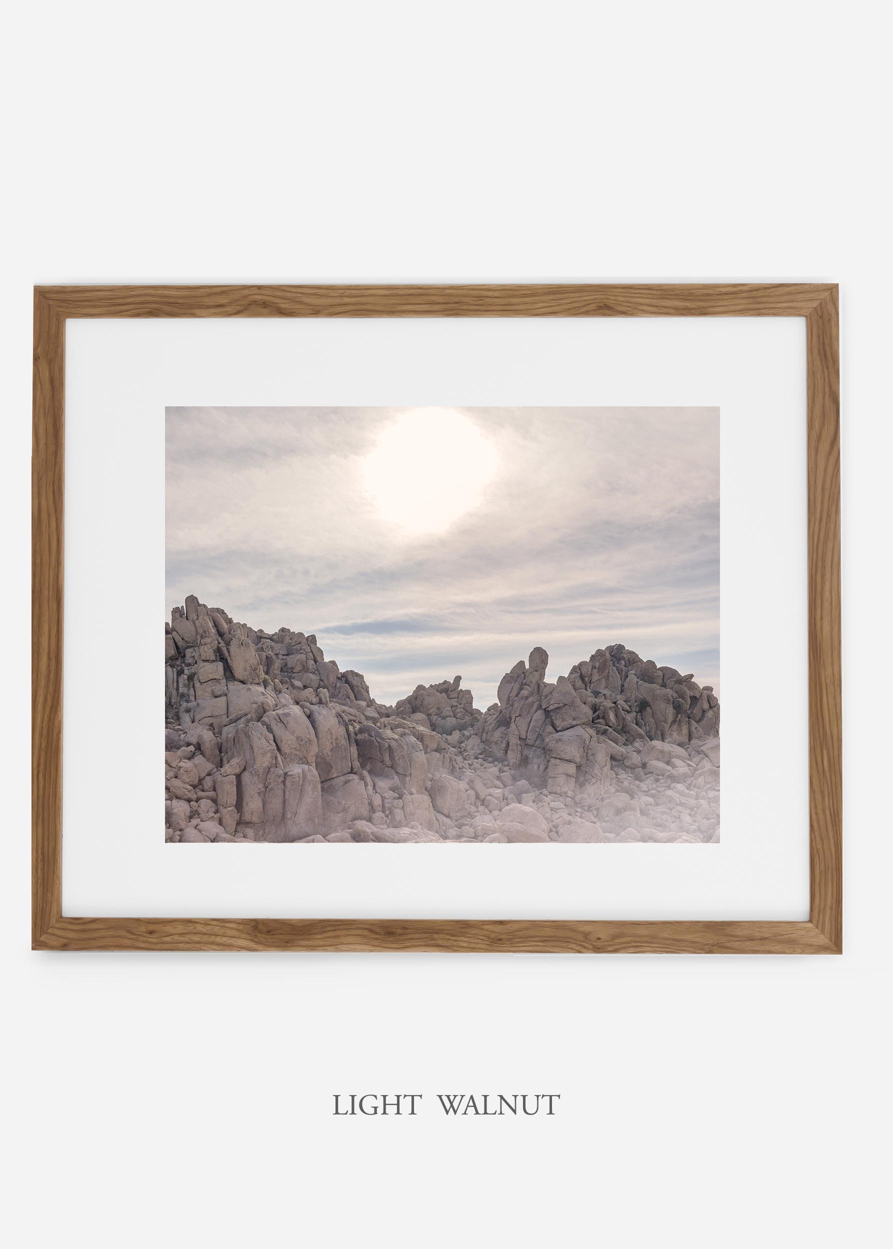 WilderCalifornia_lightwalnutframe_JoshuaTree_Rocks_No.3_interiordesign_desert_art.jpg