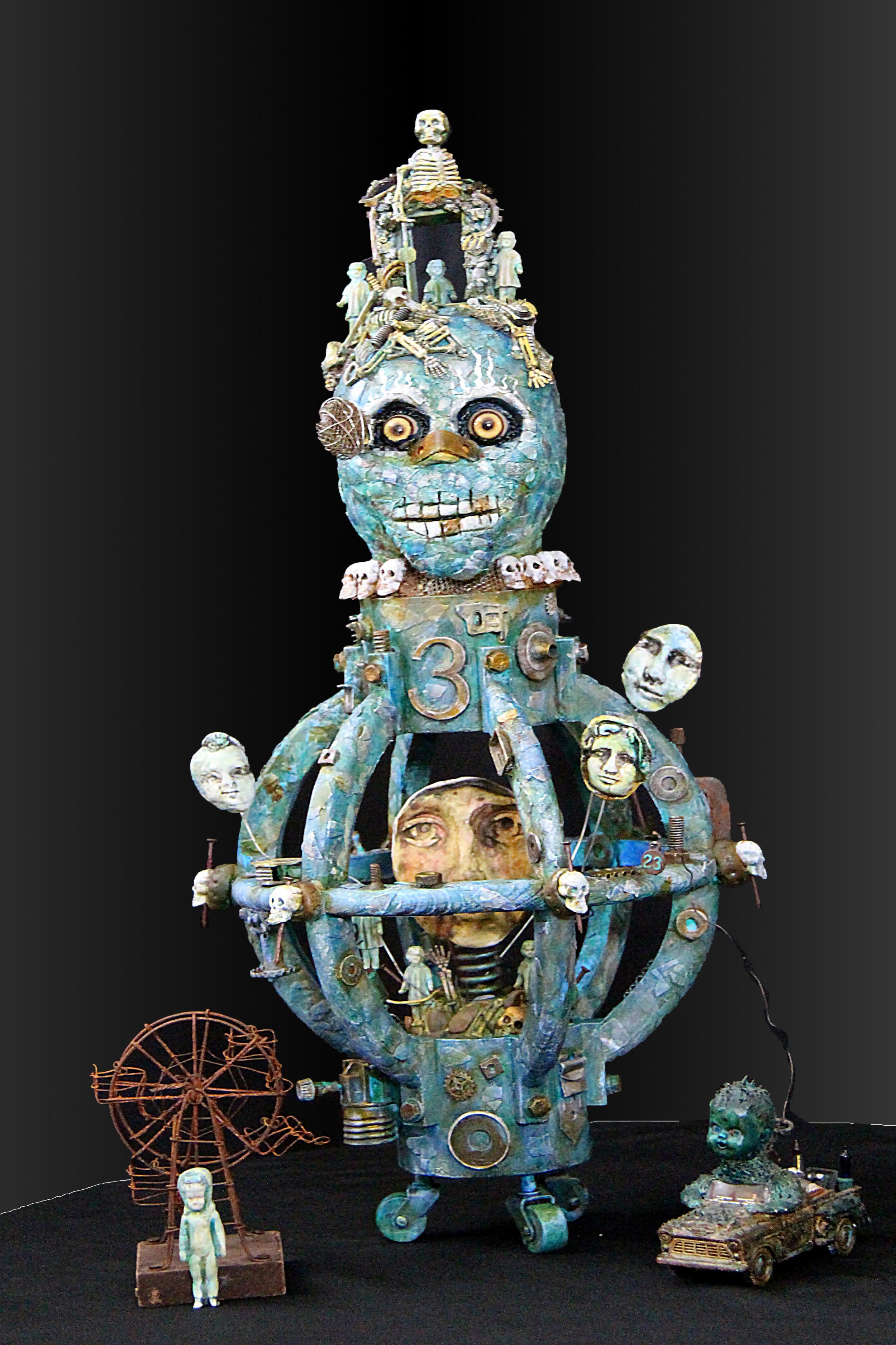 Mictlantecuhtli - God of the dead