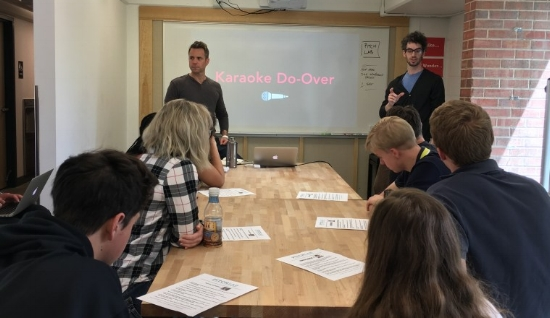 Jay Mays & Daniel Reskin Coaching REDI Lab Students @ Colorado Academy