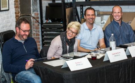 Pitch lab panelists: tommy y, heidi mcguire, joel lutz & rj owen!