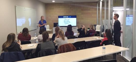 Kylie B Kicks off our Storytelling workshop at General Assembly Denver!
