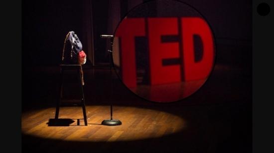 Giuseppe's backpack TEDx