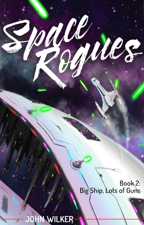 Space Rogues Cover John Wilker