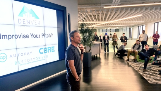 Michael Collins Be Story Driven Pitch Lab