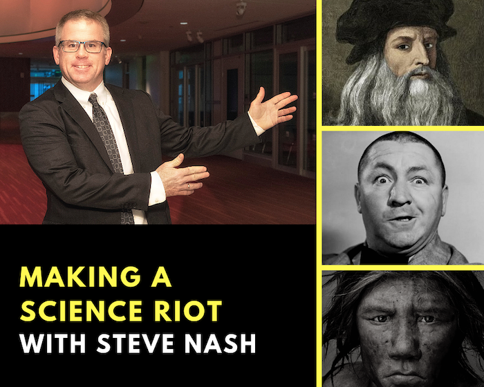 Science Riot Pitch Lab Interview Steve Nash Header