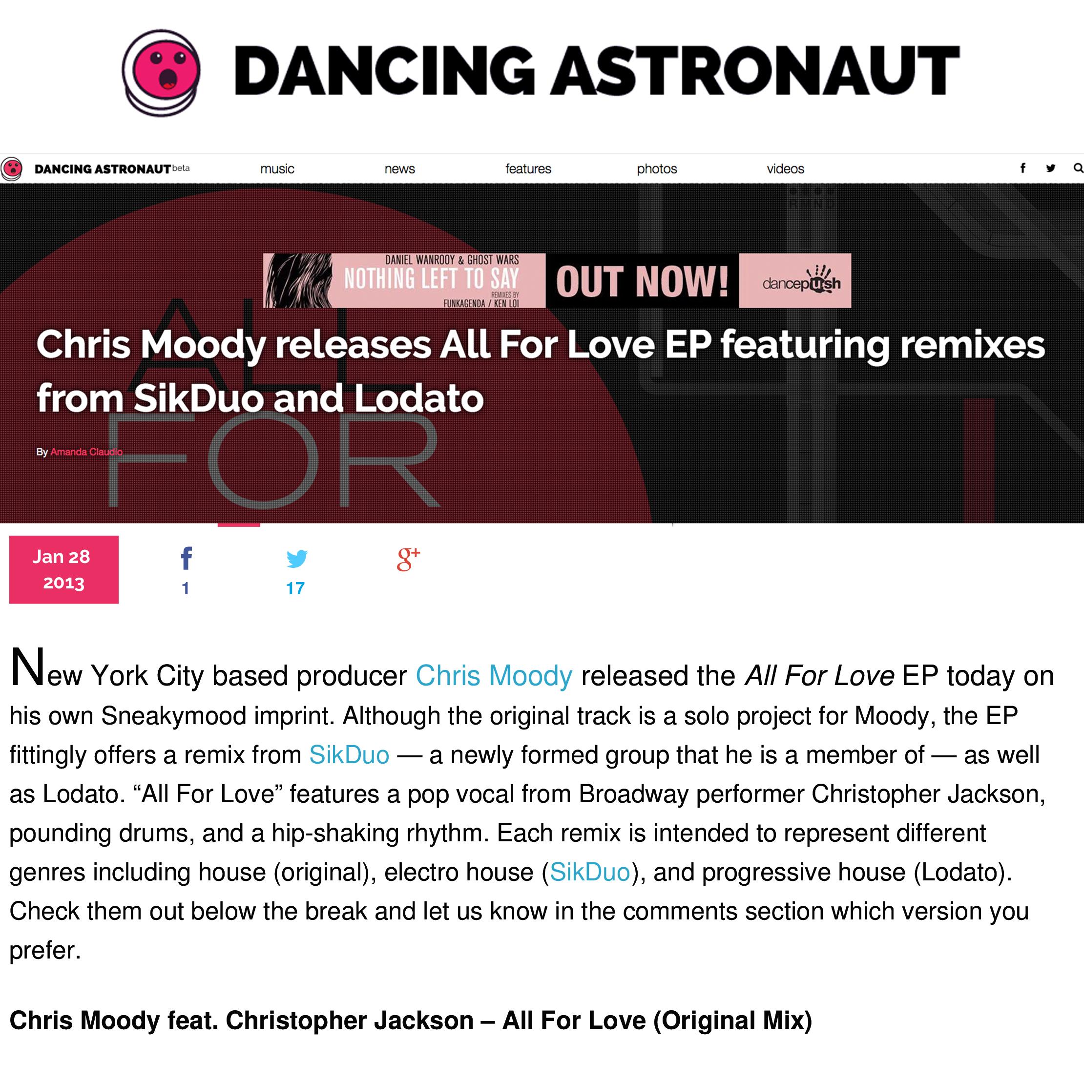 Dancing Astronaut