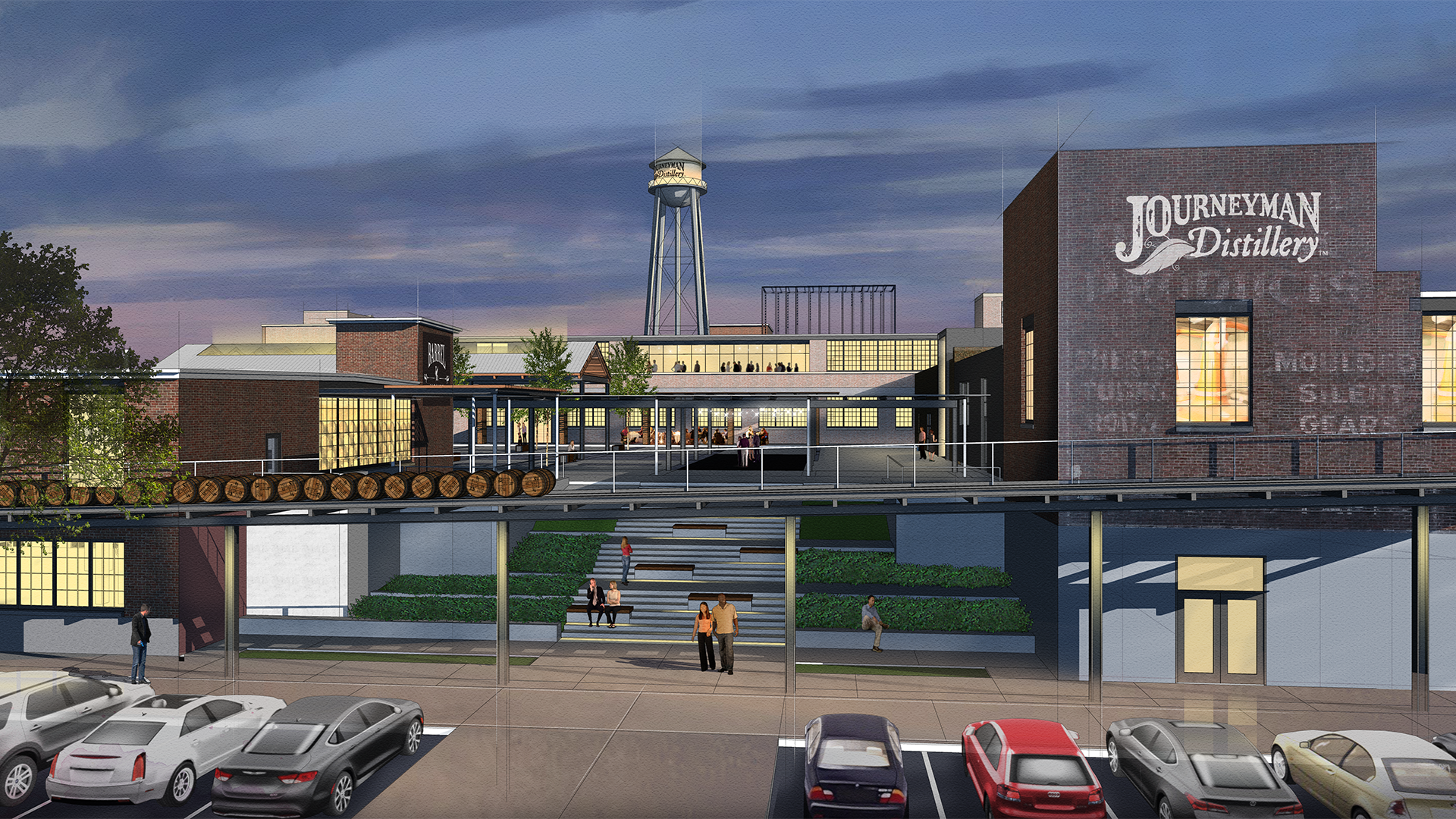 Journeyman Distillery and DKGR's vision for a new Valparaiso Facility.