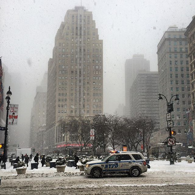 Snow day. #NYC #snow #winter