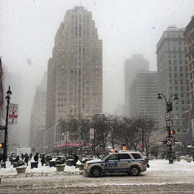 Snow day. #NYC #snow #winter