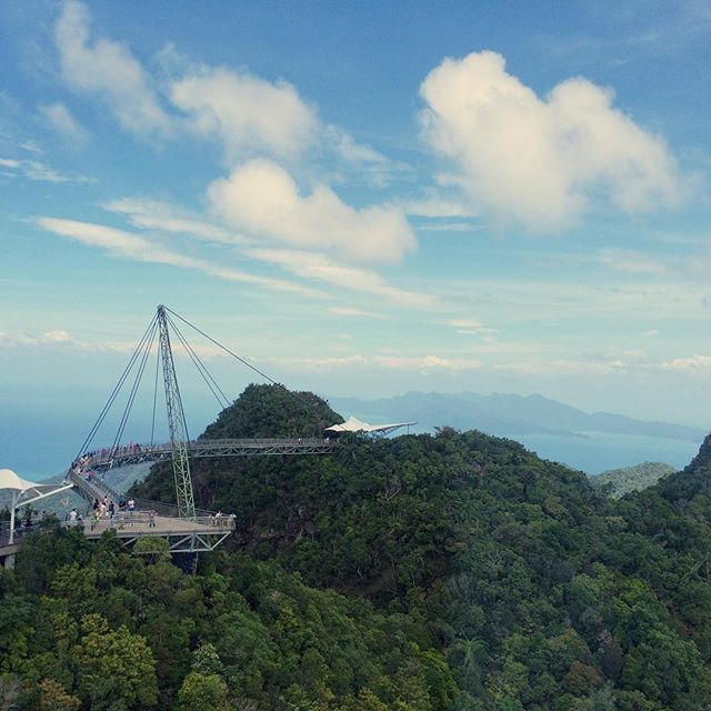 Sky bridge #langkawi #malaysia #rtw #beautiful #travelphotography
