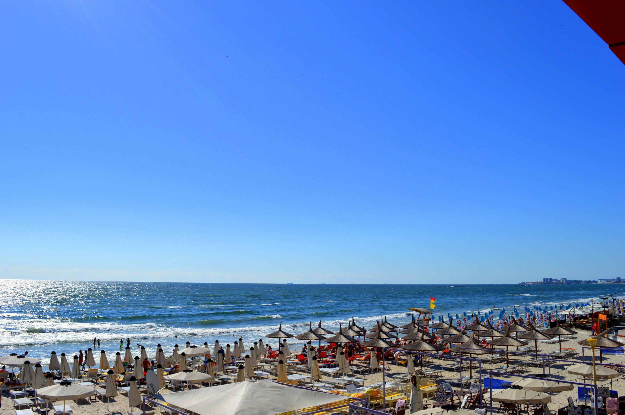 Mamaia beach, Romania