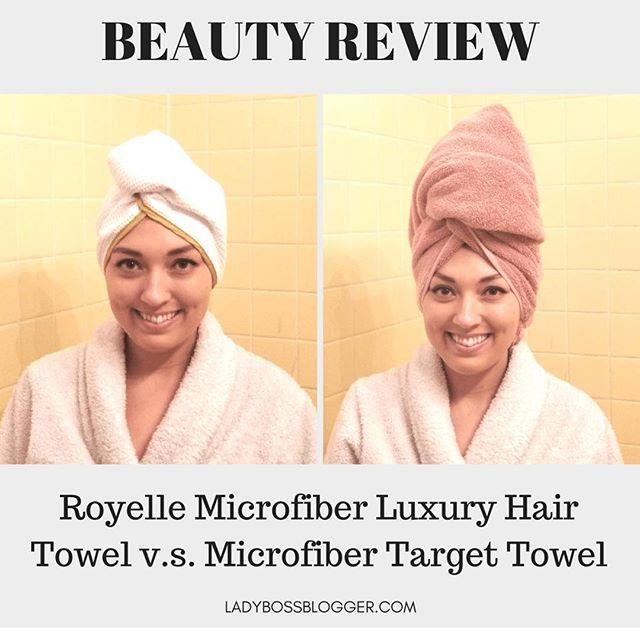 """The packaging and colors make you feel like a queen! There isn't a lot of gold colored towels out there… this is probably the closest I'll get to wearing a gold crown."" LadyBossBlogger ❤️"