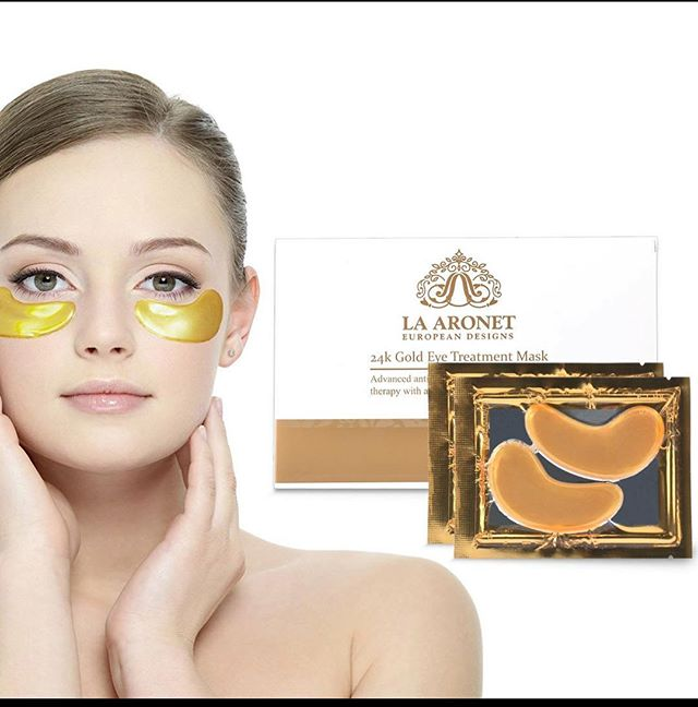 This is better than botox - and much cheaper! 😉  Link in bio 👌  #goldeyemask #24kgoldtreatment #beauty #eyemask #beautycare #beautytips #beautifulwomen