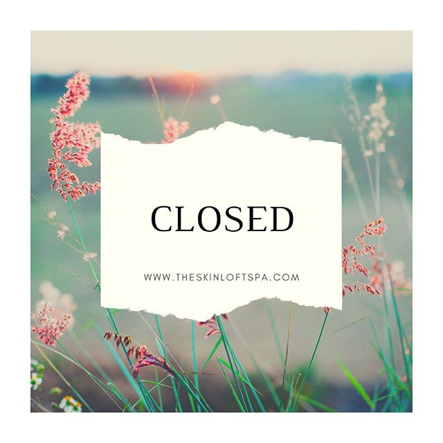 The Skin Loft will be closed this week. Online booking is available & all messages will be returned on Tuesday, July 2nd ☀️ Summer appointments are limited so make sure to schedule for your brow, waxing & skin treatments!