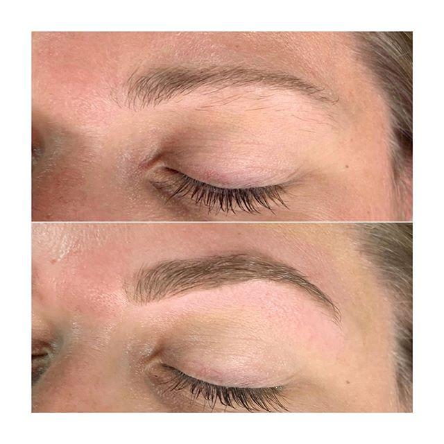 Brow Refresh ✨ Tint + Wax + @billiondollarbrows = BEAUTIFUL BROWS  #browrefresh #browboss #billiondollarbrows #theskinloft