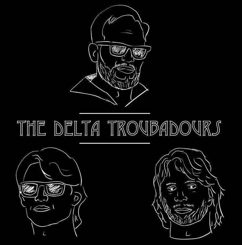 """The Delta Troubadours evoke the tough, loud grit of a backwoods Louisiana garage band and their music crackles with fervent electric guitar solos and booming vocals. Lead singer Gytis Garsys' singular voice inflects their sound with something modern, though, reviving and revamping their pure rock core for a new generation.  Garsys and band members Jonathon Franklin (Bass), Max Rowe (Drums), and Ian Heausler (lead guitar) met in high school and kindled a relationship bouncing around Gainesville's music scene after attending the University of Florida. They organized under """"Gritt"""" in 2014 and quickly launched themselves into relevance, and became the second Swamp Records artist to win the first round of Destination Okeechobee, performing on the main stage at the festival in 2017. The band moved to Nashville to pursue bigger opportunities in May 2017."""
