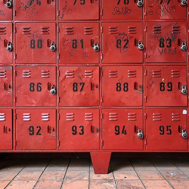Lockers at the Center #quito #ecuador #centrodelmuchachotrabajador #lockers
