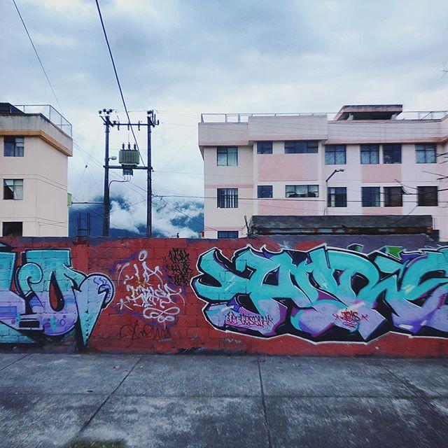 Still Life on the Street #graffiti #quito #ecuador #streetscene