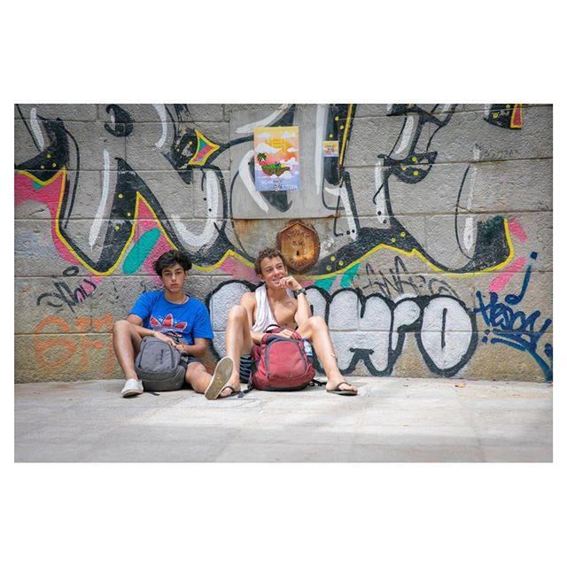 Afonso and Friend #lisboa #lisbon #summerdays #zaratan #artresidency