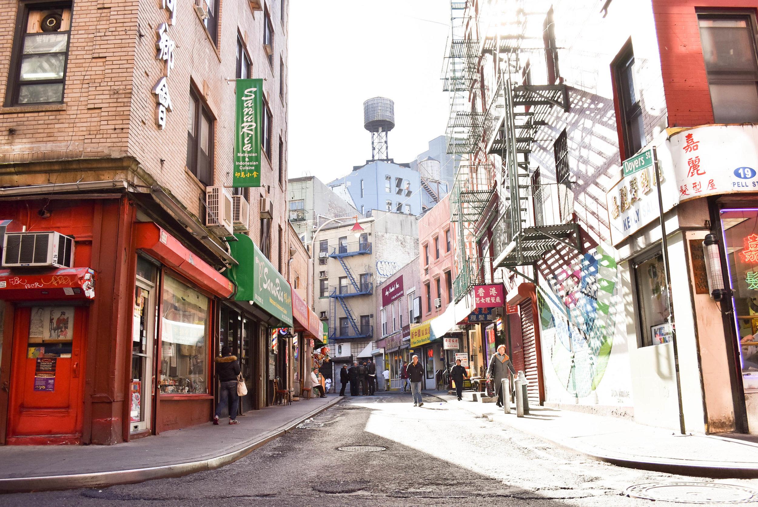 Doyers St. Chinatown, NYC
